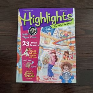 FREE WITH PURCHASE Highlights magazine